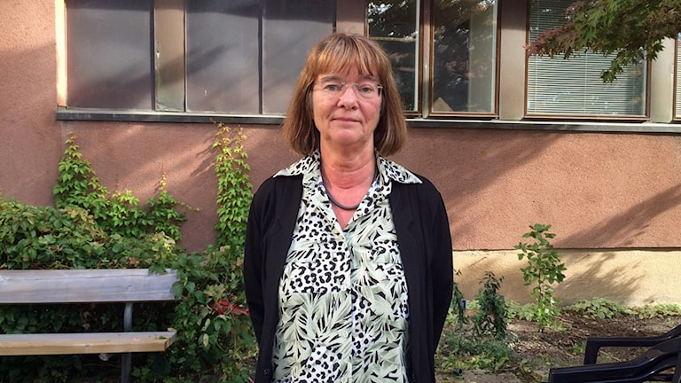 Ulla Bergquist, antikvarie på länsstyrelsen i Västmanland.