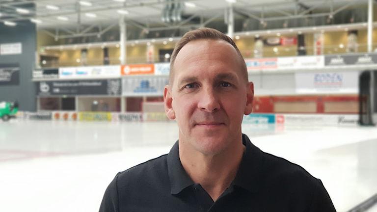 Michael Carlsson, tränare i VSK Bandy.