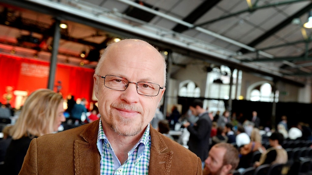 Stig Henriksson is the Left Party's defense policy spokesperson. Photo: Jessica Gow/TT