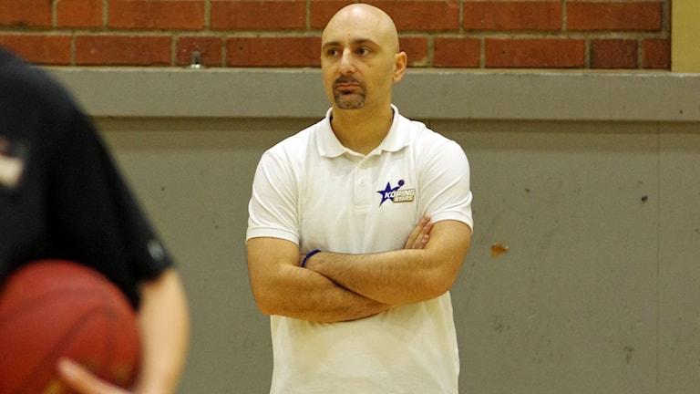 Panagiotis Nikolaidis, tränare Köping Basket
