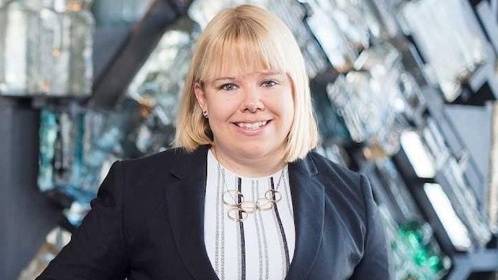 Eleonore Lundkvist (M), ordförande i Västeråsmoderaterna.