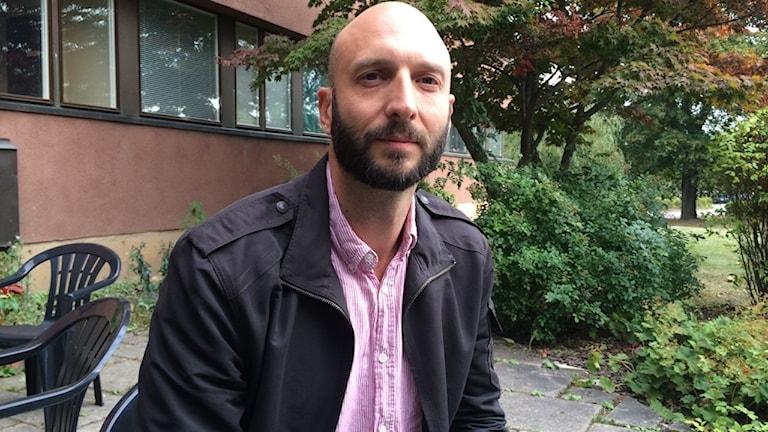 David Liderfelt, projektledare för Mälarens Vattenförbund med säte i Västerås