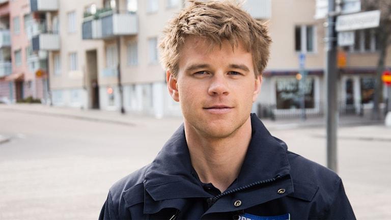 Jonas Parthen, Polisens pressinformatör.