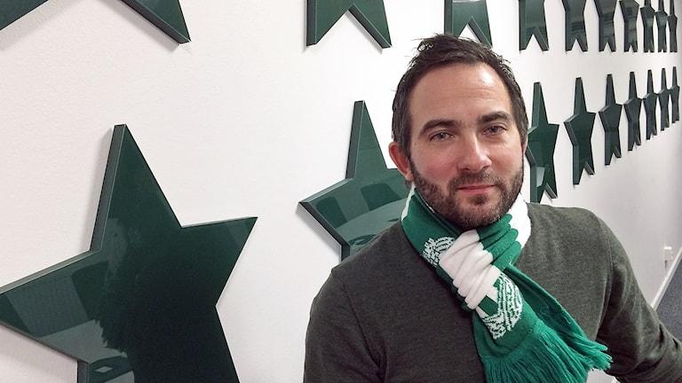 VSK klubbchef Michael Campese