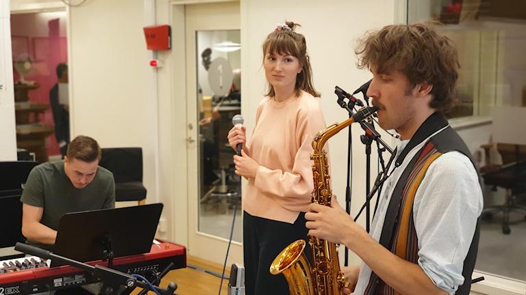 Jazztrion Yttre Bodane på Radioscenen