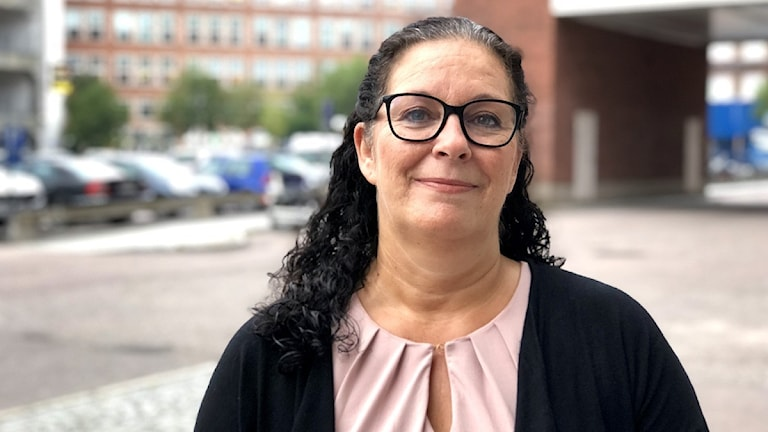 Helen Sundin, bostadssocial chef på kommunala bostadsbolaget Mimer i Västerås.