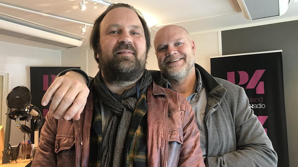 Anders Härdevik och Jim Uusikartano från Country Circus.