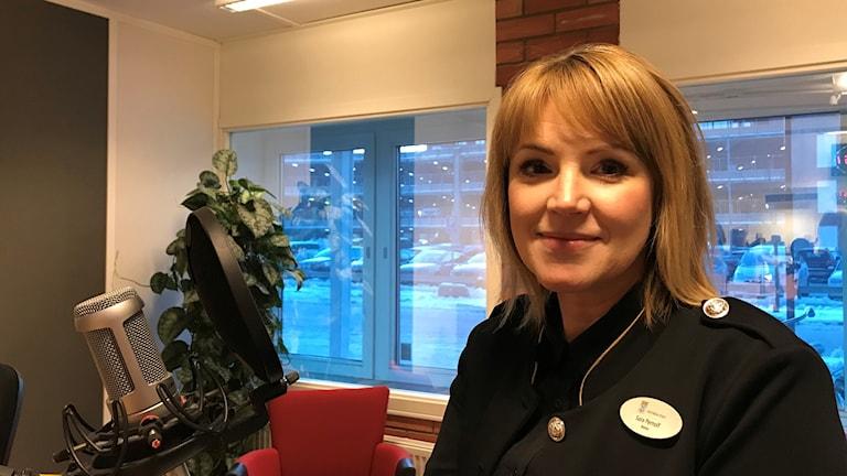 Sara Pernolf, rektor för Emausskolan i Västerås.