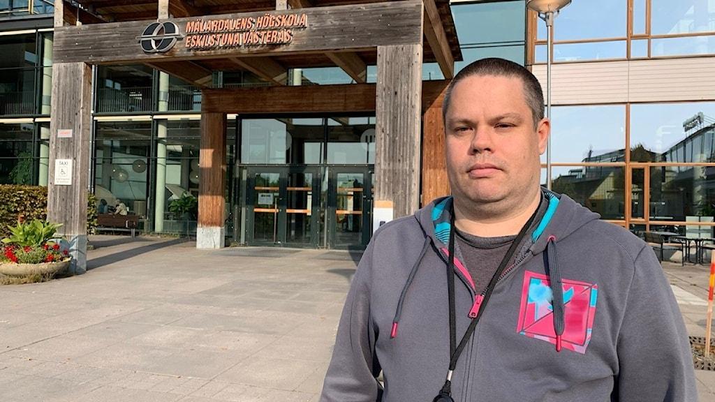 Henrik Springare, supporttekniker på Mälardalens högskola.