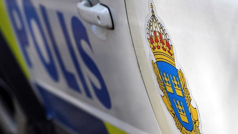 Exteriörbild på polisbil.