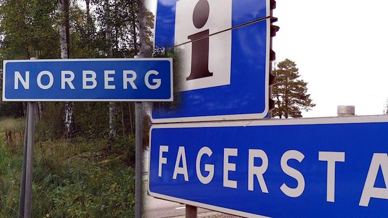 Skyltmontage Norberg och Fagersta