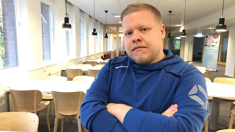 Joacim Eriksson, socialsekreterare i Sala kommun.
