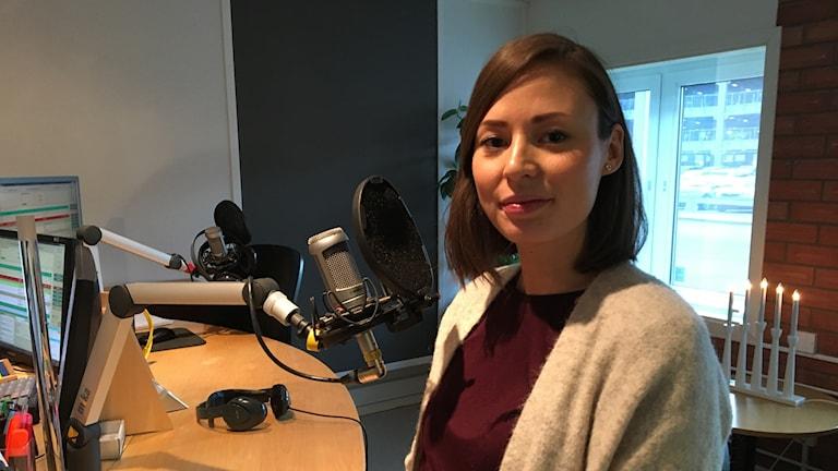 Illustratören Jenny Sjödin från Västerås.