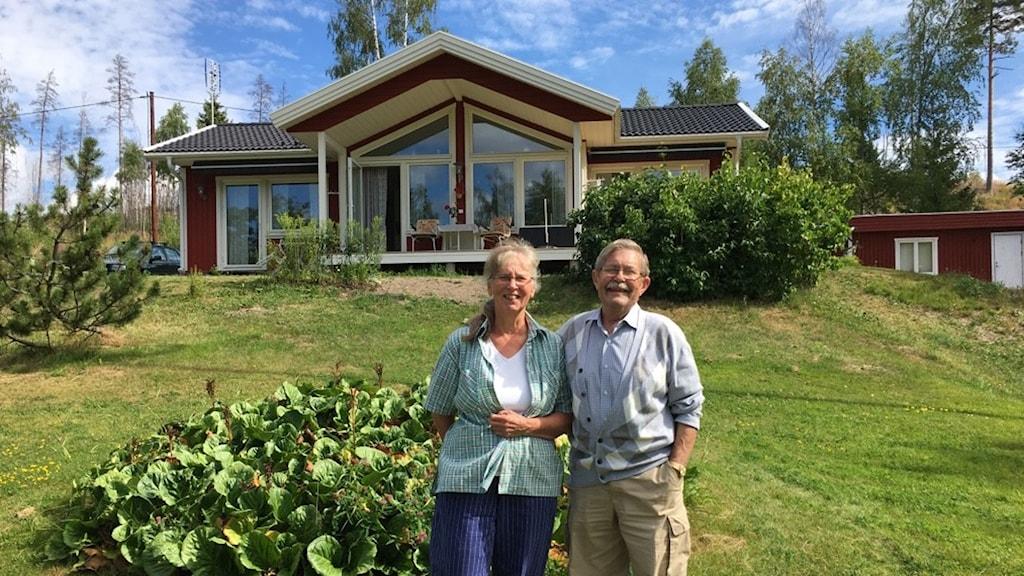 Sommarparadis  Ulla och Bengt