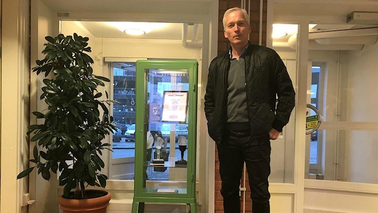 Håkan Sjöstrand, generalsekreterare i Svenska fotbollförbundet.