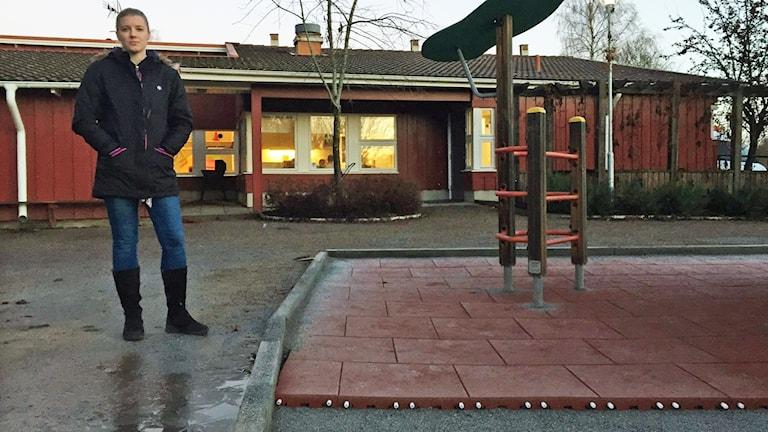 Emma Hermansson, förskollärare på Dalhems förskola i Sala.