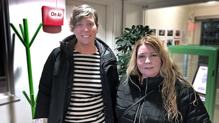 Jessica Andersson, Fagerstaposten och Ann-Sofie Sannemalm, SVT Västmanland.