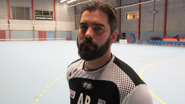 VästeråsIrstas tränare Andreas Bamberg