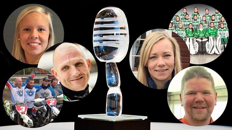 Sex nominerade till P4 Västmanlands Idrottspris 2017.