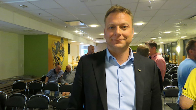 Mattias Jonson, ny ordförande i VIK Hockey