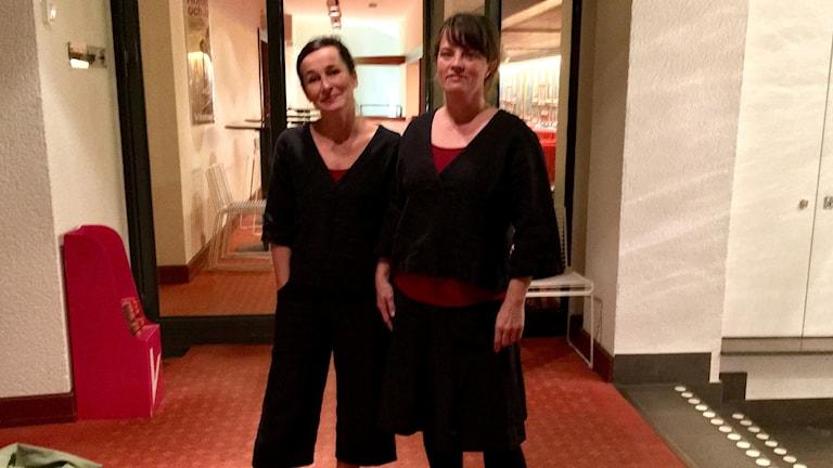 Jenny Bjärkstedt och Anna Thorén Mörnerud