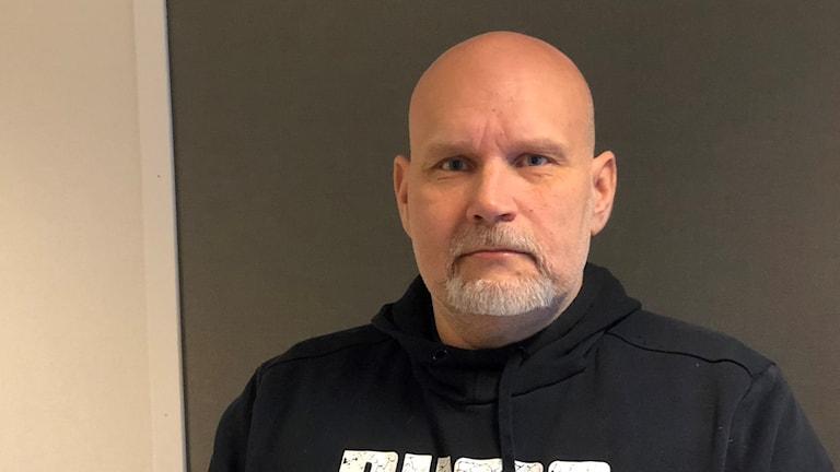 Ricky Holmqvist, verksamhetsansvarig för KRIS i Västerås.