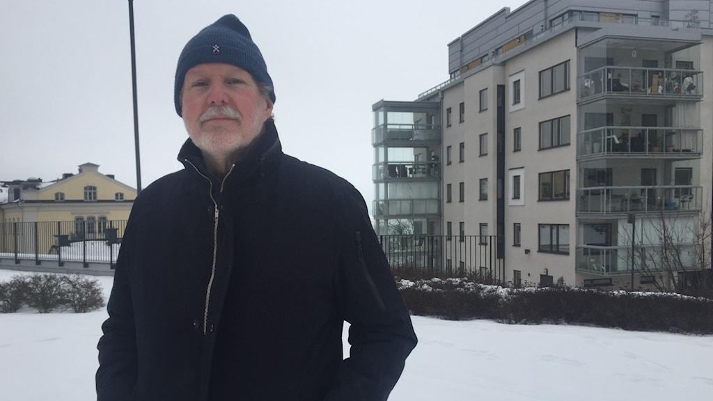Sverker Ölund, driver enmansföretaget MetIT vid sidan av pensionärslivet.