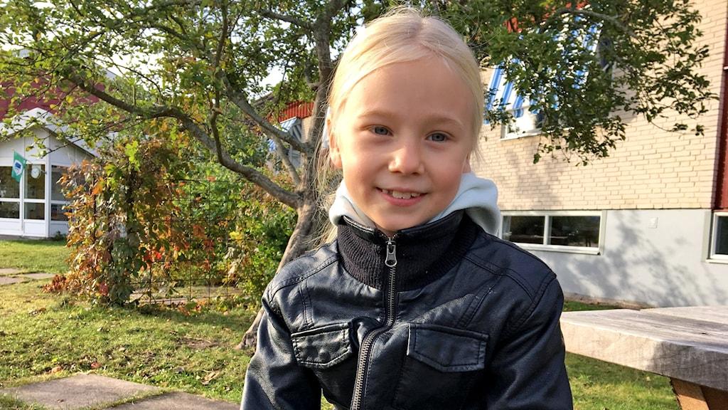 Julia Wickman i Strömsholm, en av #tiomiljoner.