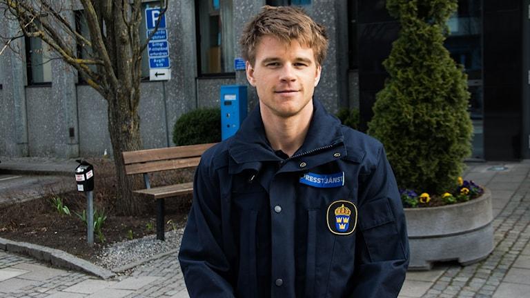 Jonas Partheen, Polisens pressinformatör.