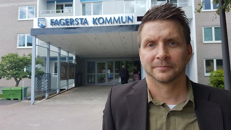 Marino Wallsten (S) kommunalråd i Fagersta.