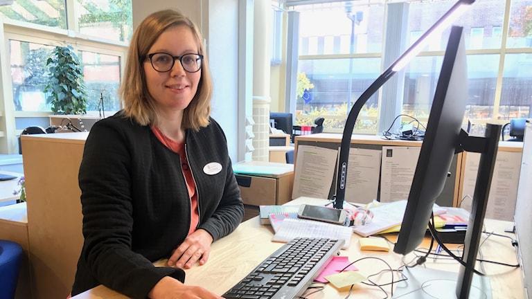 Cecilia Välijeesiö, utvecklare inom skolverksamheterna i Västerås stad.