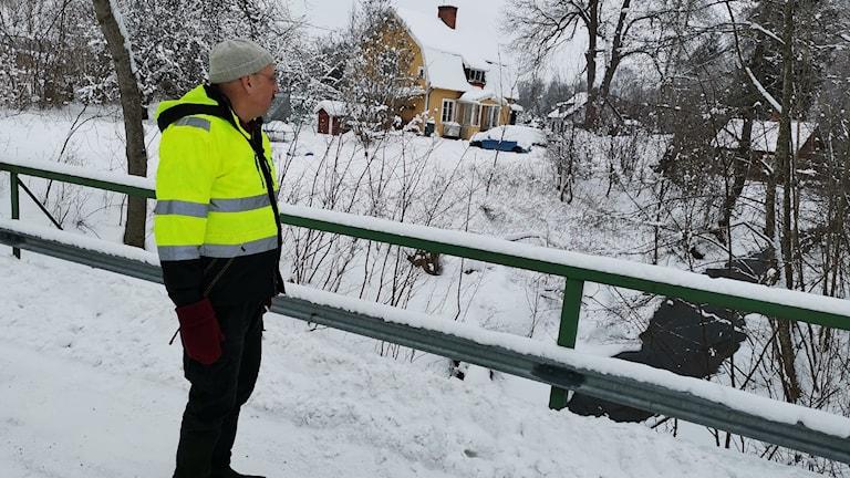 Johan Norrlin, miljöingenjör i Sala kommun.