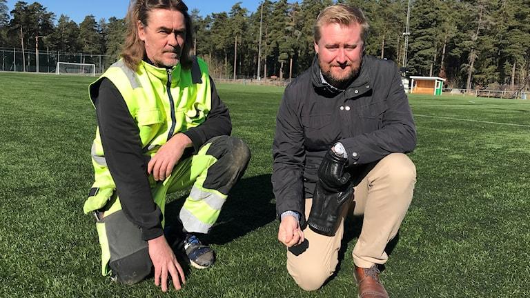 Tim Hellman och Olof Bergold