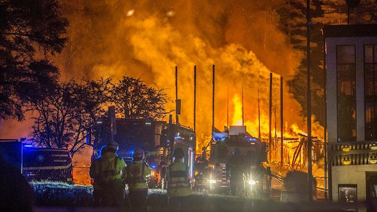 Branden i Fagersta