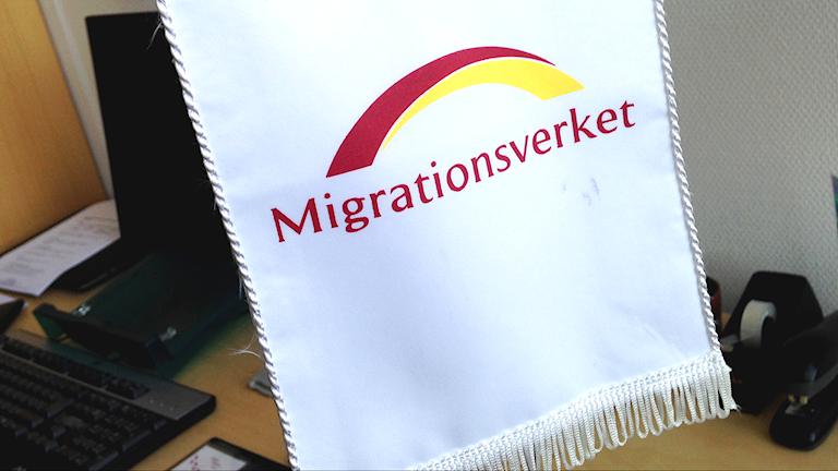 Migrationsverket standar.Kennet Lindquist/Sveriges Radio.