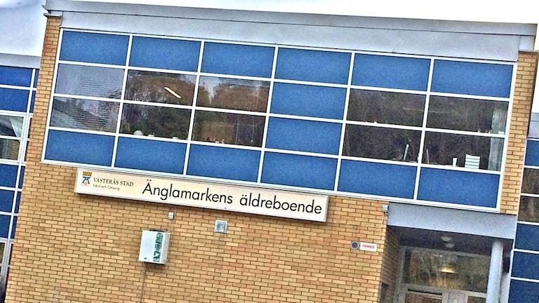 Änglamarkens äldreboende i Västerås.