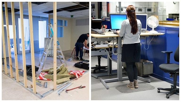 Hur värderar vi våra jobb? Foto: Pontus Lundahl/TT och Henrik Montgomery/TT
