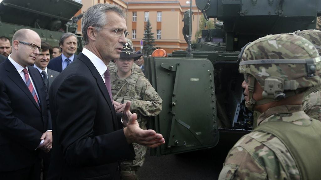 Natos generalsekreterare, Jens Stoltenberg. Foto: Petr David Josek