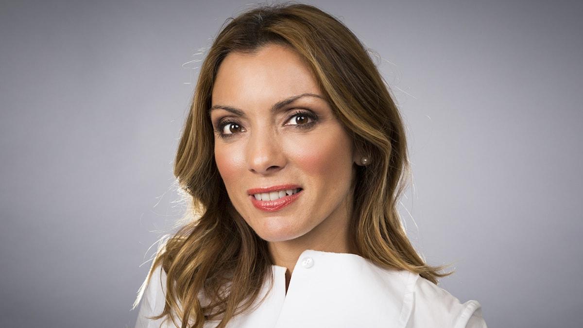 Alexandra Pascalidou. Foto: Micke Grönberg/Sveriges Radio