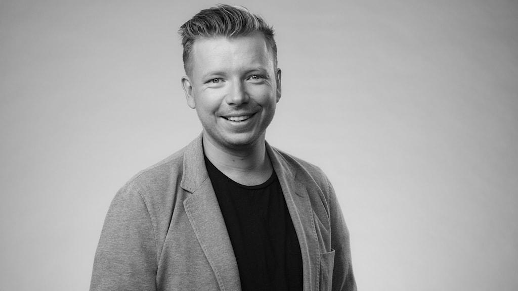 Emanuel Karlsten. Foto: Mattias Ahlm/Sveriges Radio