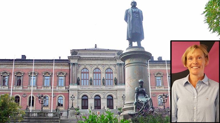 Uppsala universitet och Cilla Häggqvist
