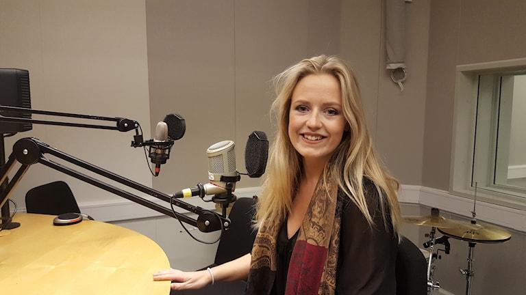 Maria Broberg, aktuell med singel.