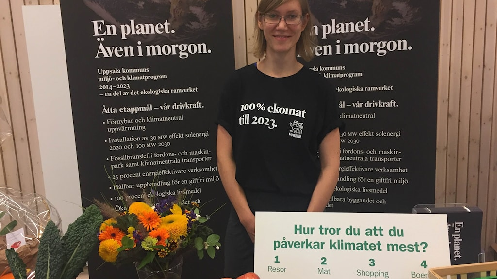 Uppsala kommuns miljö-och klimatprogram pratade om klimatets påverkan.