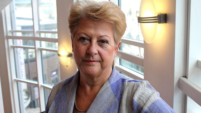 Agneta Gille (S), Socialdemokrat från Uppsala.