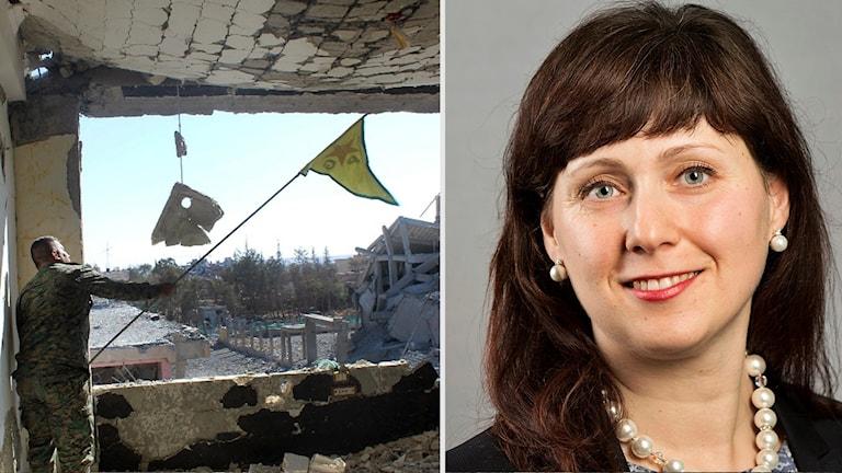Vivianne Macdisi (S) om beskedet från al-Raqqa
