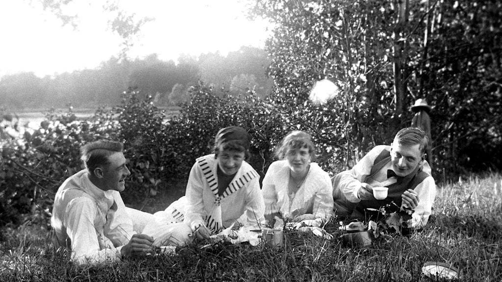 Selfie vid Närdingen 1917