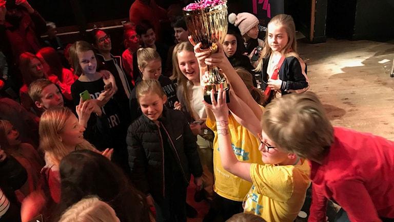 Almtunaskolan 5B, vinnare av Vi i femman Uppland 2018