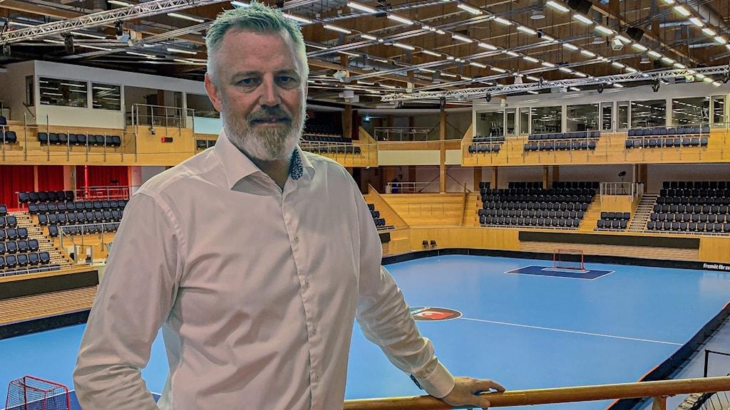 Tobias Svensson, VD på IFU Arena.