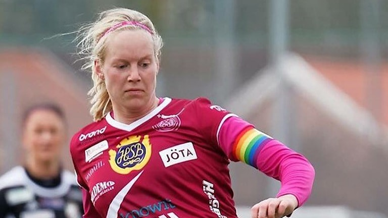 Moa Mattsson, lagkapten i IK Uppsala fotboll.