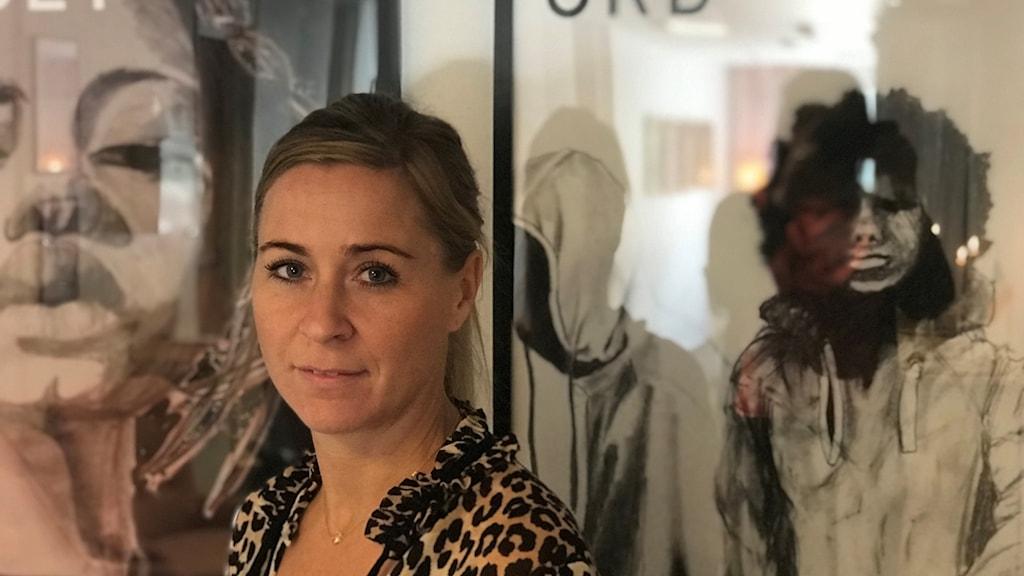 Therese Holtz från Uppsala